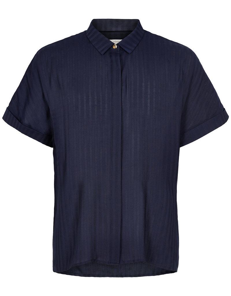 Nümph Mahalia Shirt Donkerblauw