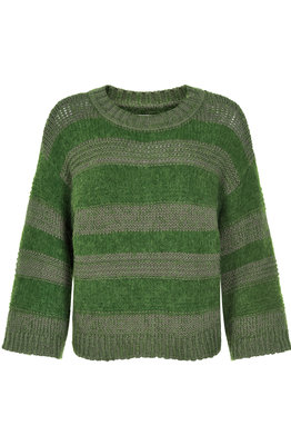AndLess Chaima Pullover - Groen