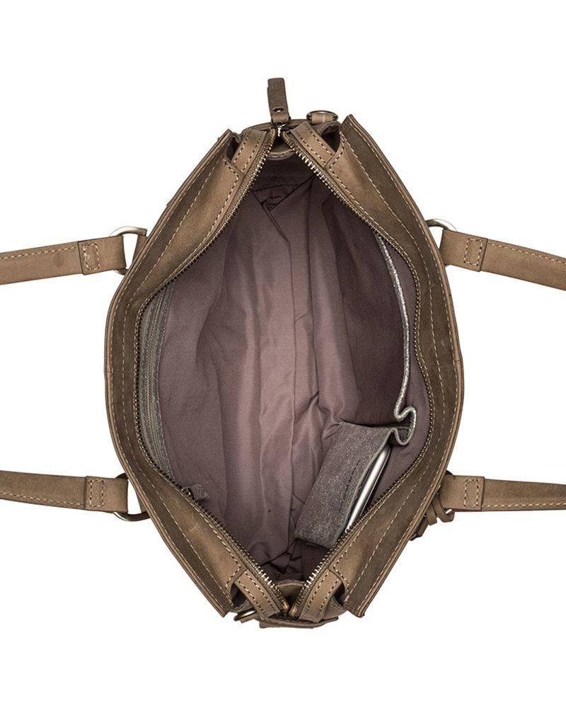 Burkely About Ally - Handbag S - Kaki/Grijs
