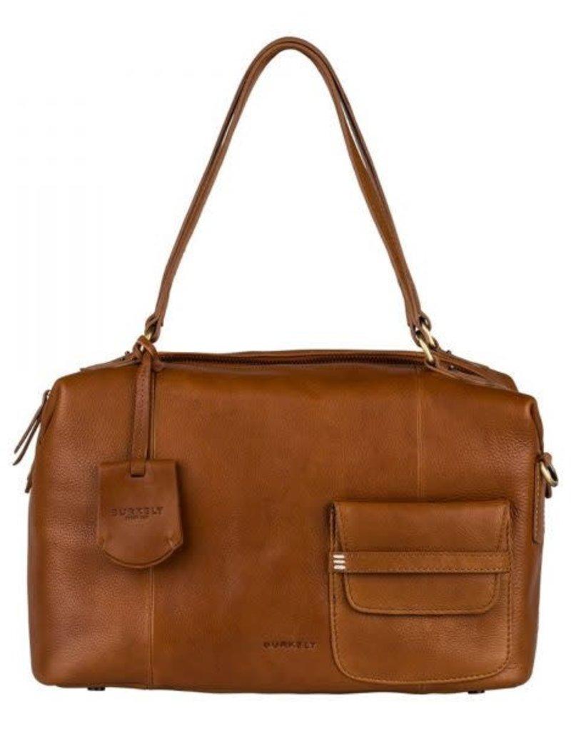 Burkely Craft Caily - Handbag S - Cognac