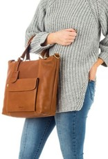 Burkely Craft Caily - Hobo Shopper - Cognac