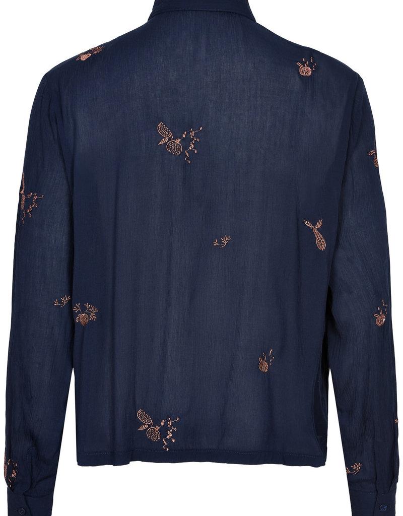 Nümph Methaven Shirt - Blauw
