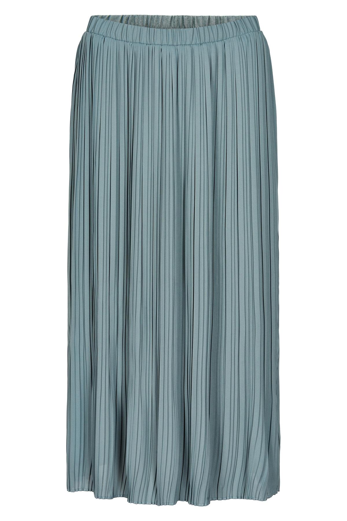 AndLess Abbygail Skirt - Blauw/grijs