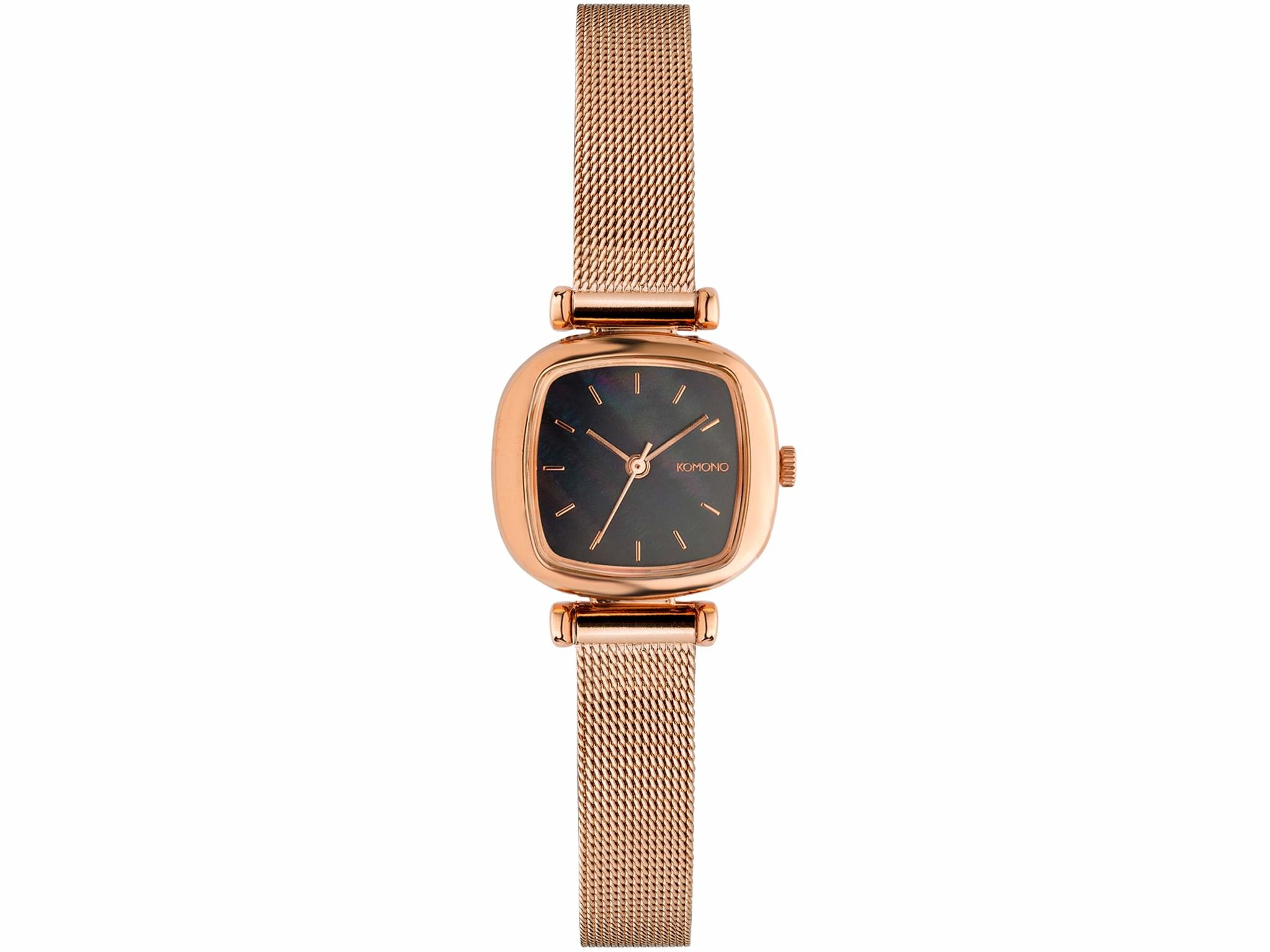 Komono Moneypenny Royale - Rose Gold/Black