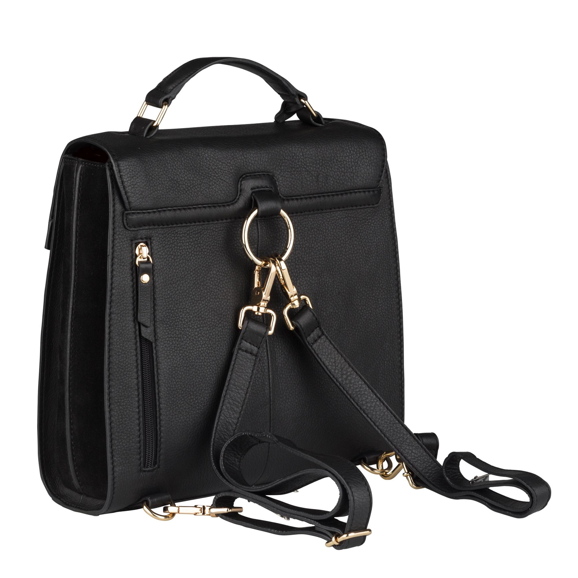 Burkely Secret Sage - Backpack - 2way - zwart