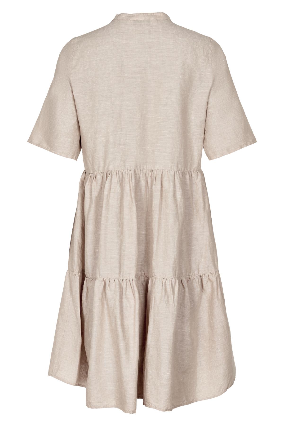 AndLess Pane SS Dress