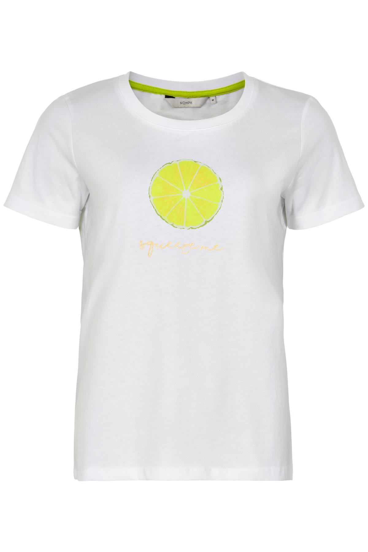 Nümph Ashlyn T-shirt - Lemon