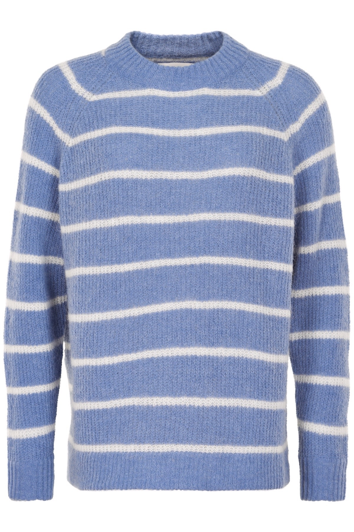 AndLess Bambina Pullover - Stripes Blauw/wit