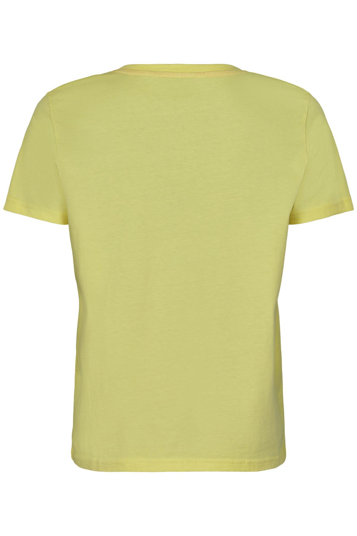 Nümph Bryce T-shirt S20 - Geel