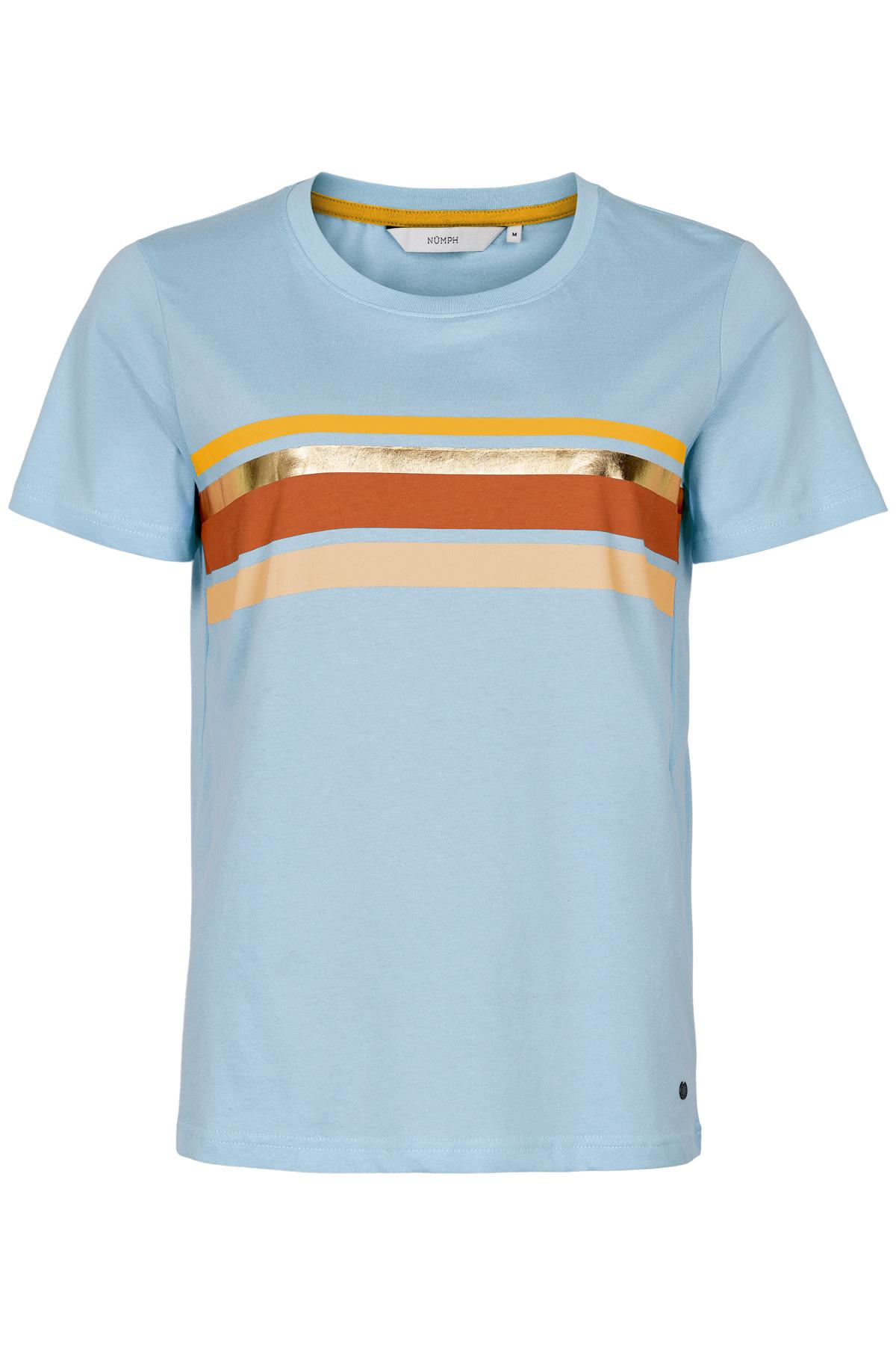 Nümph Bryce T-shirt S20 - Blauw