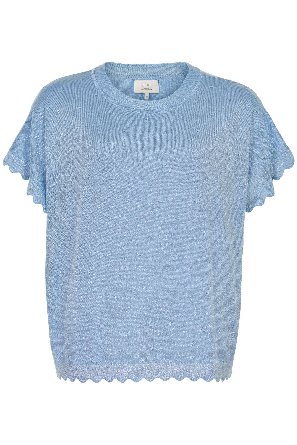 Nümph Darlene pullover - lichtblauw