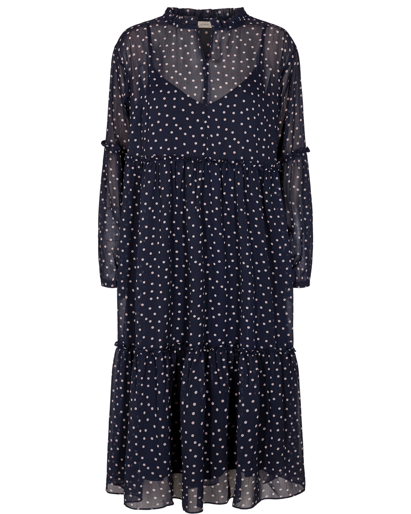 Nümph Nanon Dress - Donkerblauw