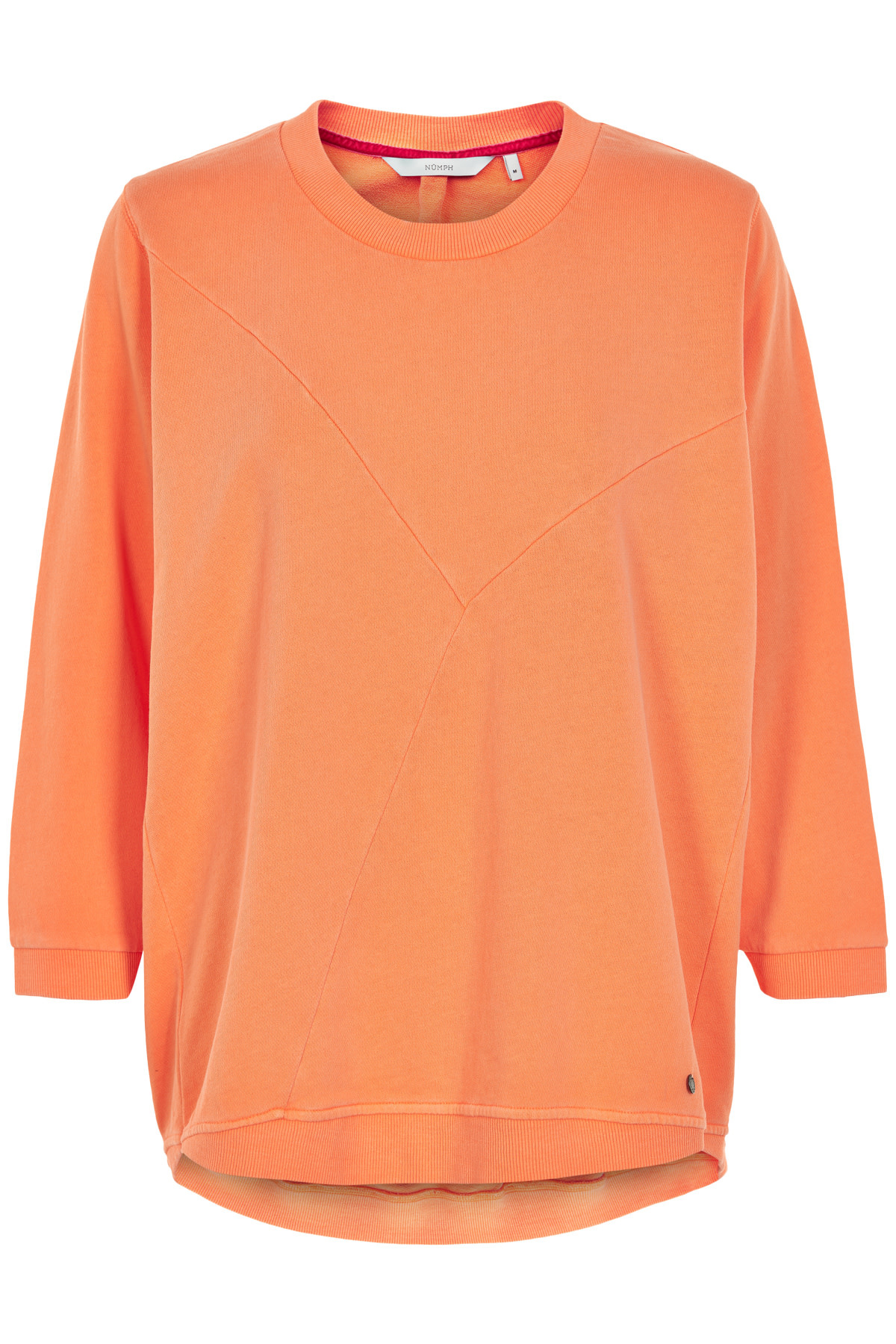 Nümph Nicola SS Sweat - Oranje