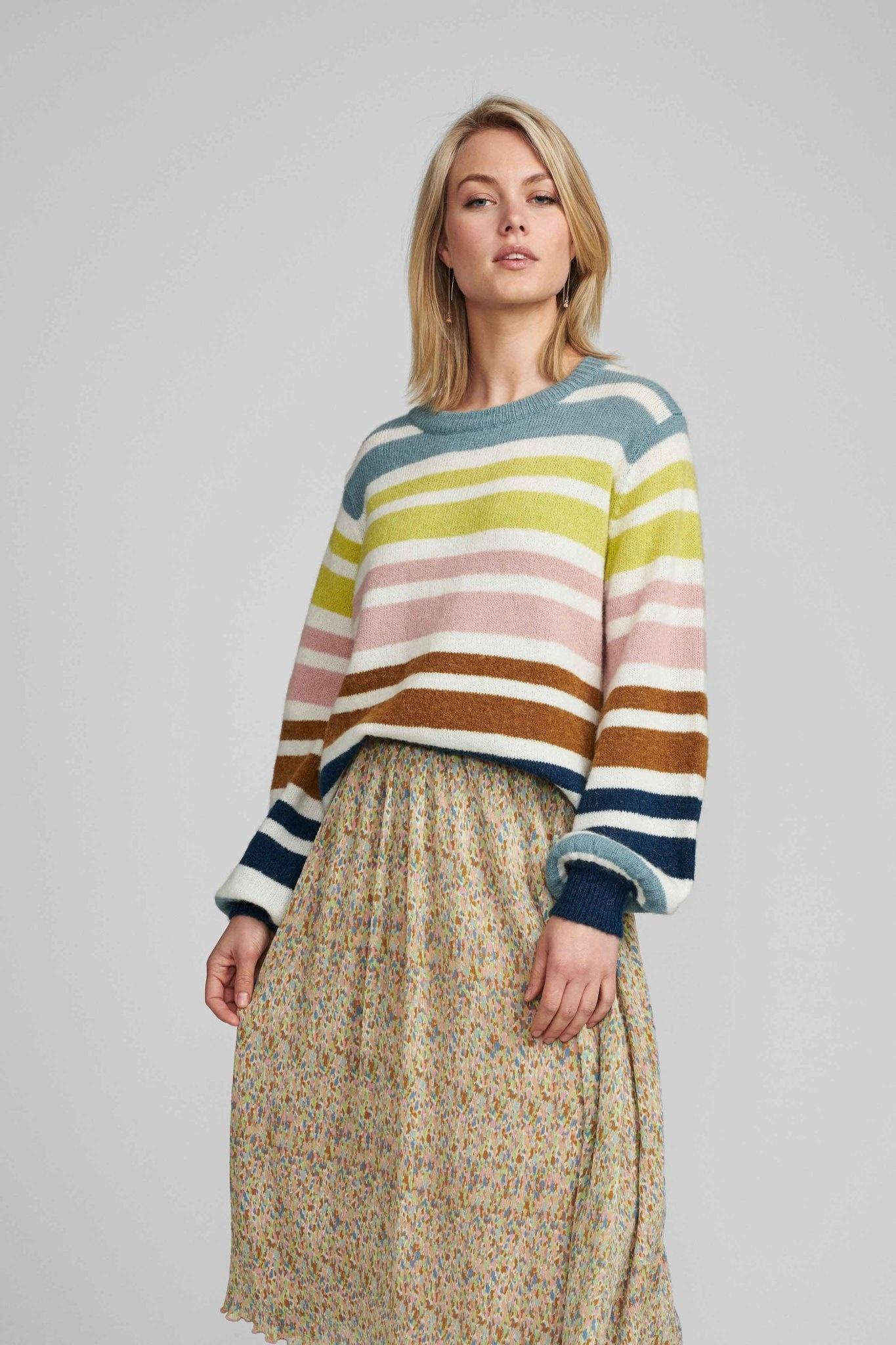 Nümph Brexley-Stripe Pullover