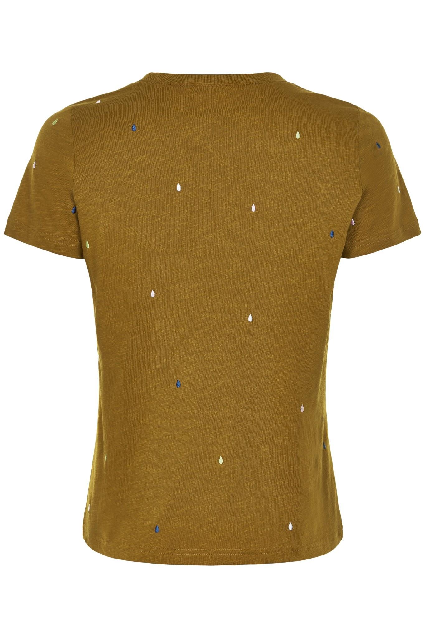 Nümph Brinkely T-shirt - Bruin