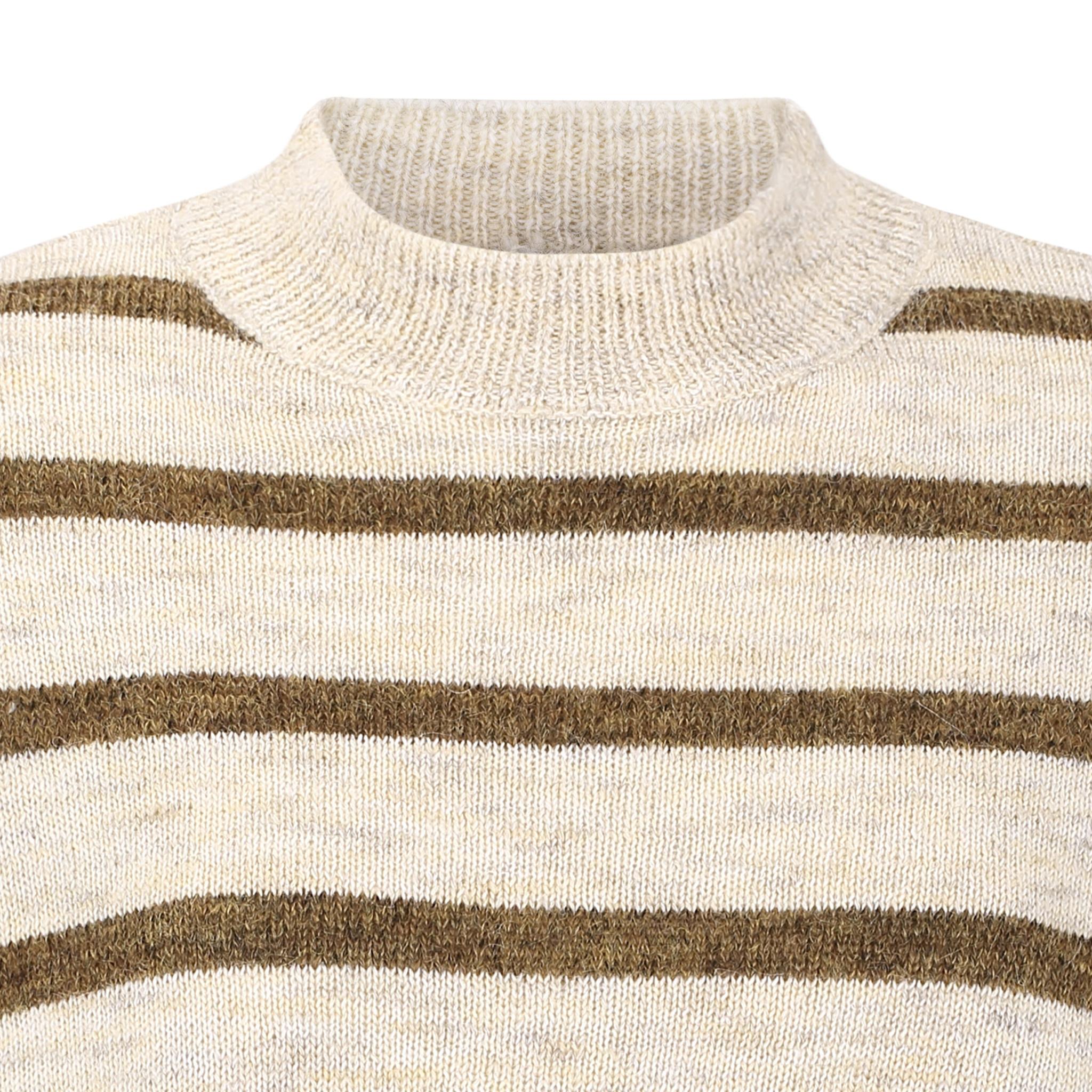 Soft Rebels Patia T-neck knit - Ecru