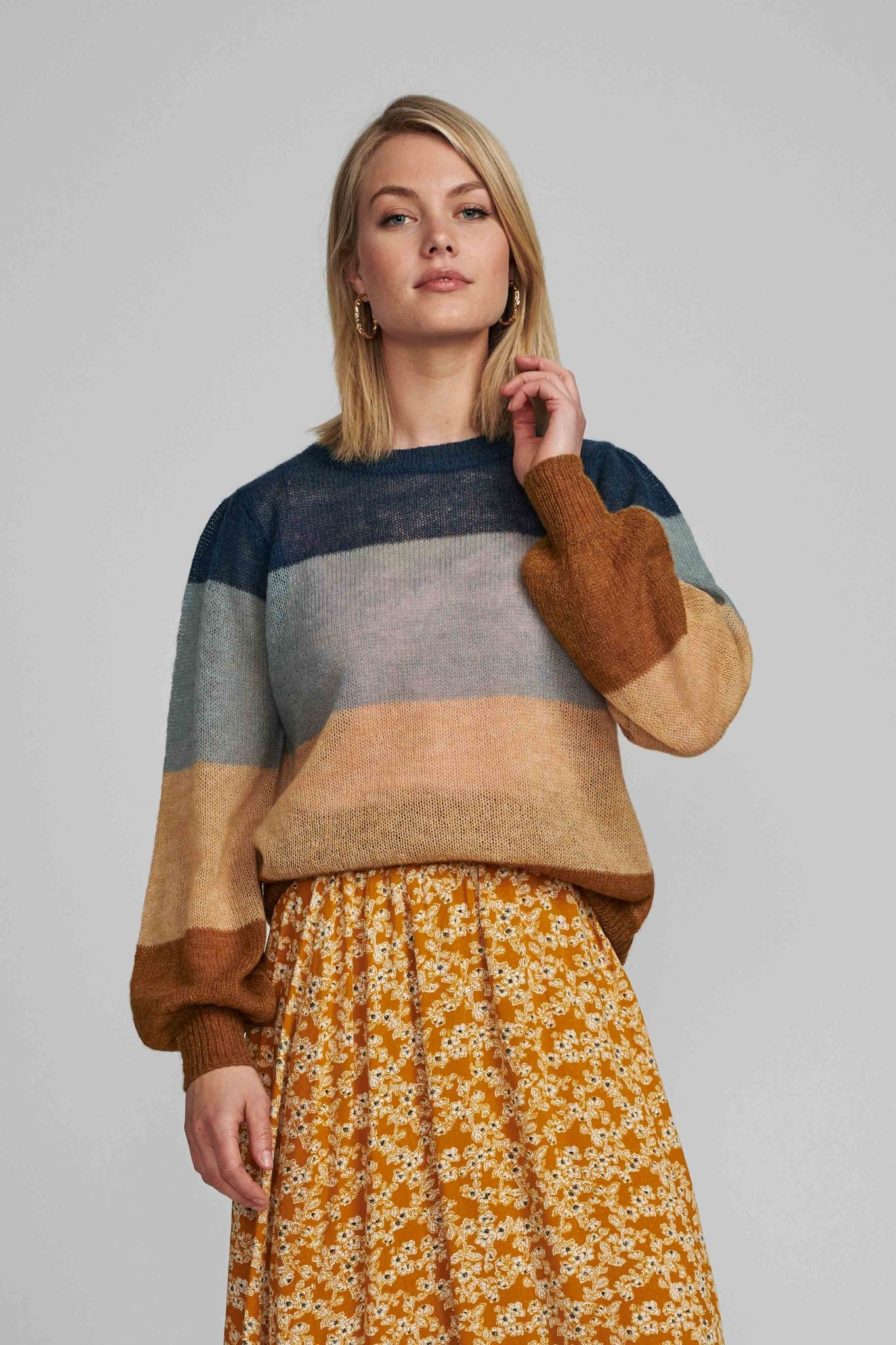 Nümph Brielle stripe pullover