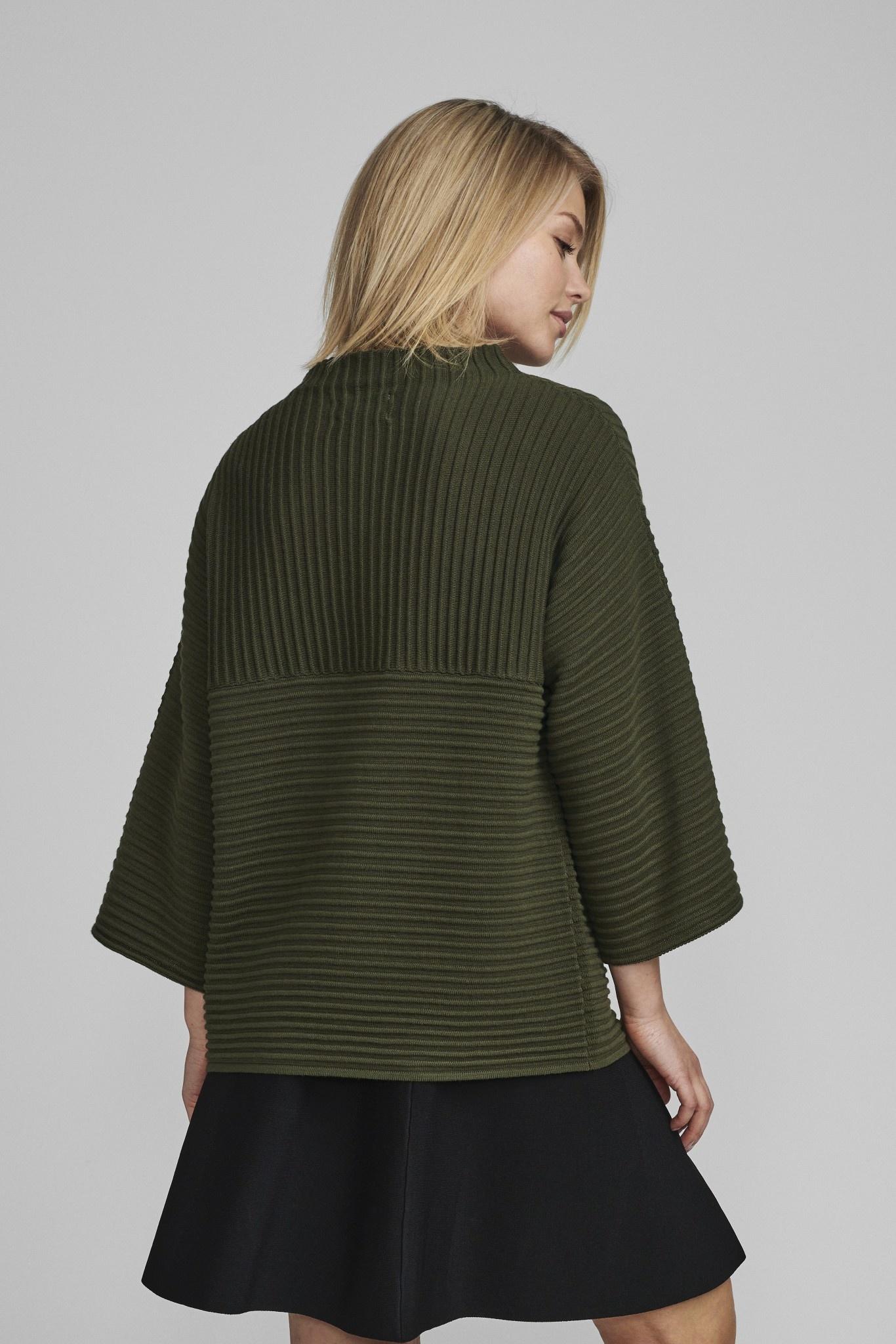 Nümph Irmelin O-neck Pullover - NOOS - Kaki