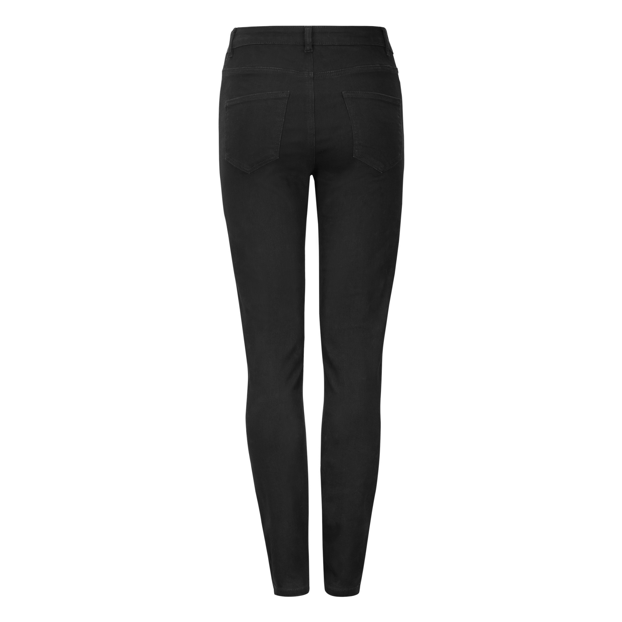 Soft Rebels Highwaist Slim Jeans Black