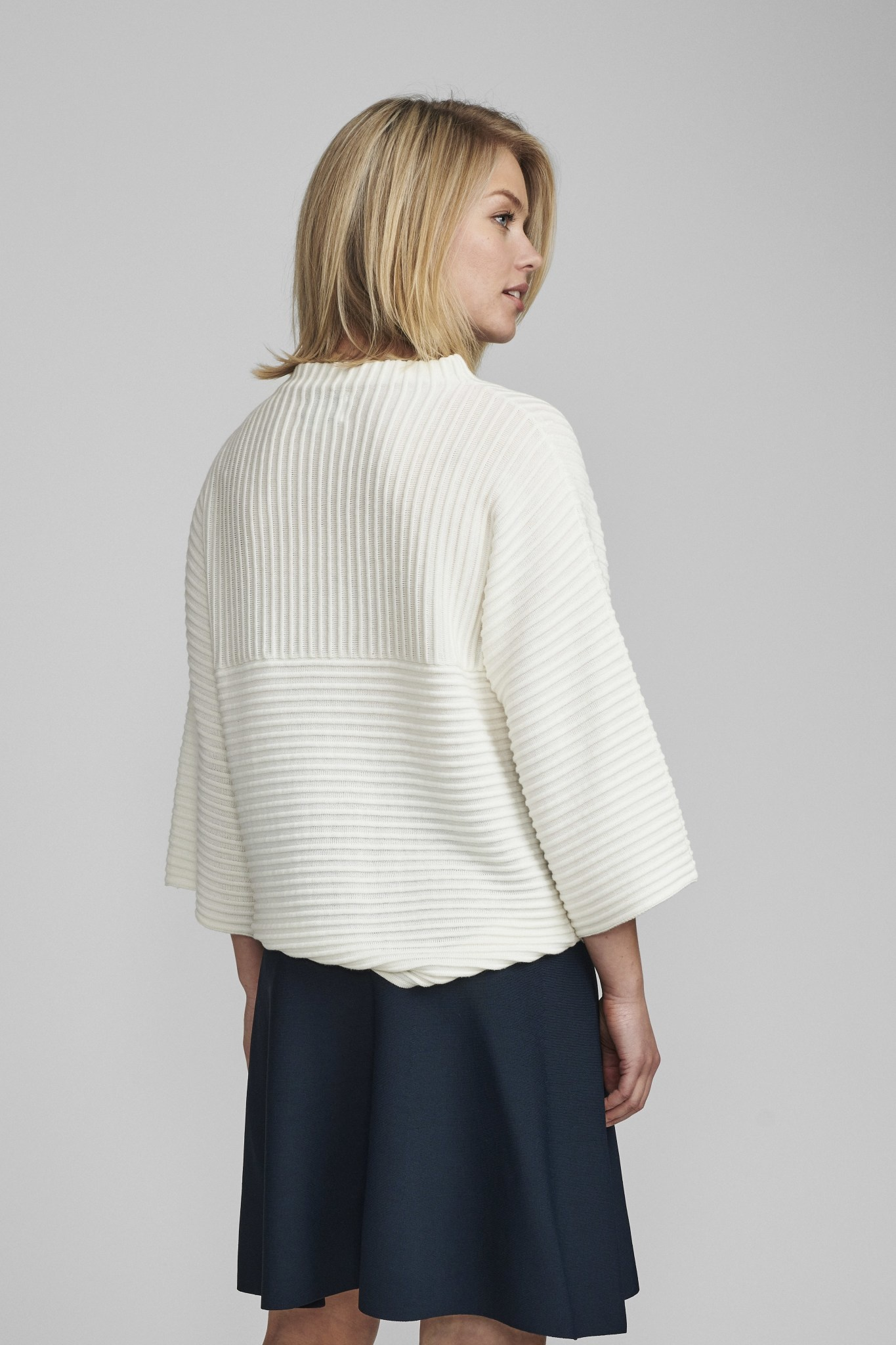 Nümph Irmelin O-neck pullover - NOOS - Wit