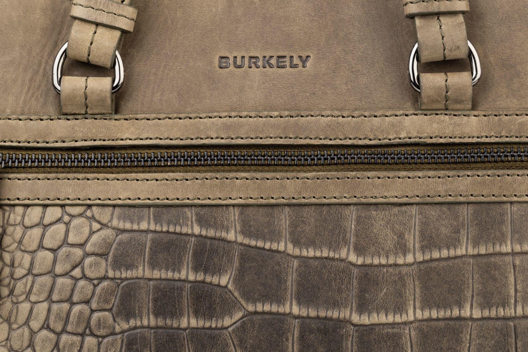 Burkely Croco Cody - Crossover S - Dark Green