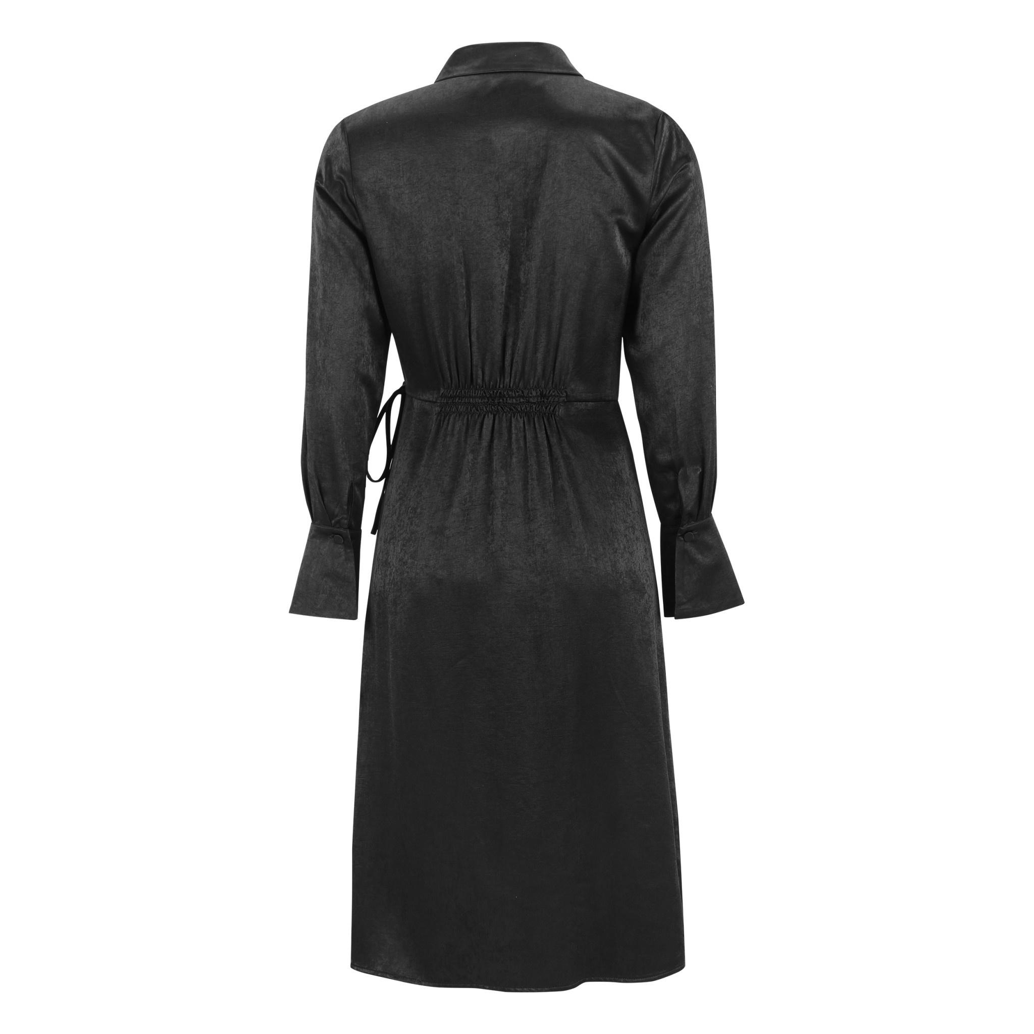 Soft Rebels Eliza Wrap Dress - Black