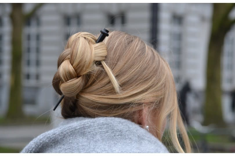 Hairstick - Widow Black