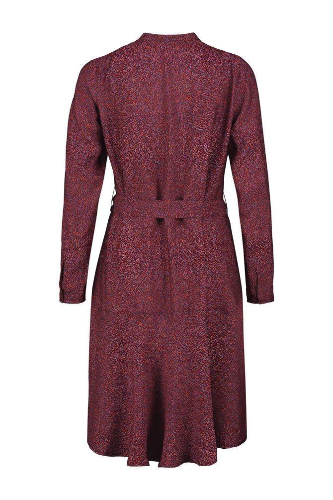 CKS Prune Dots Short Dress