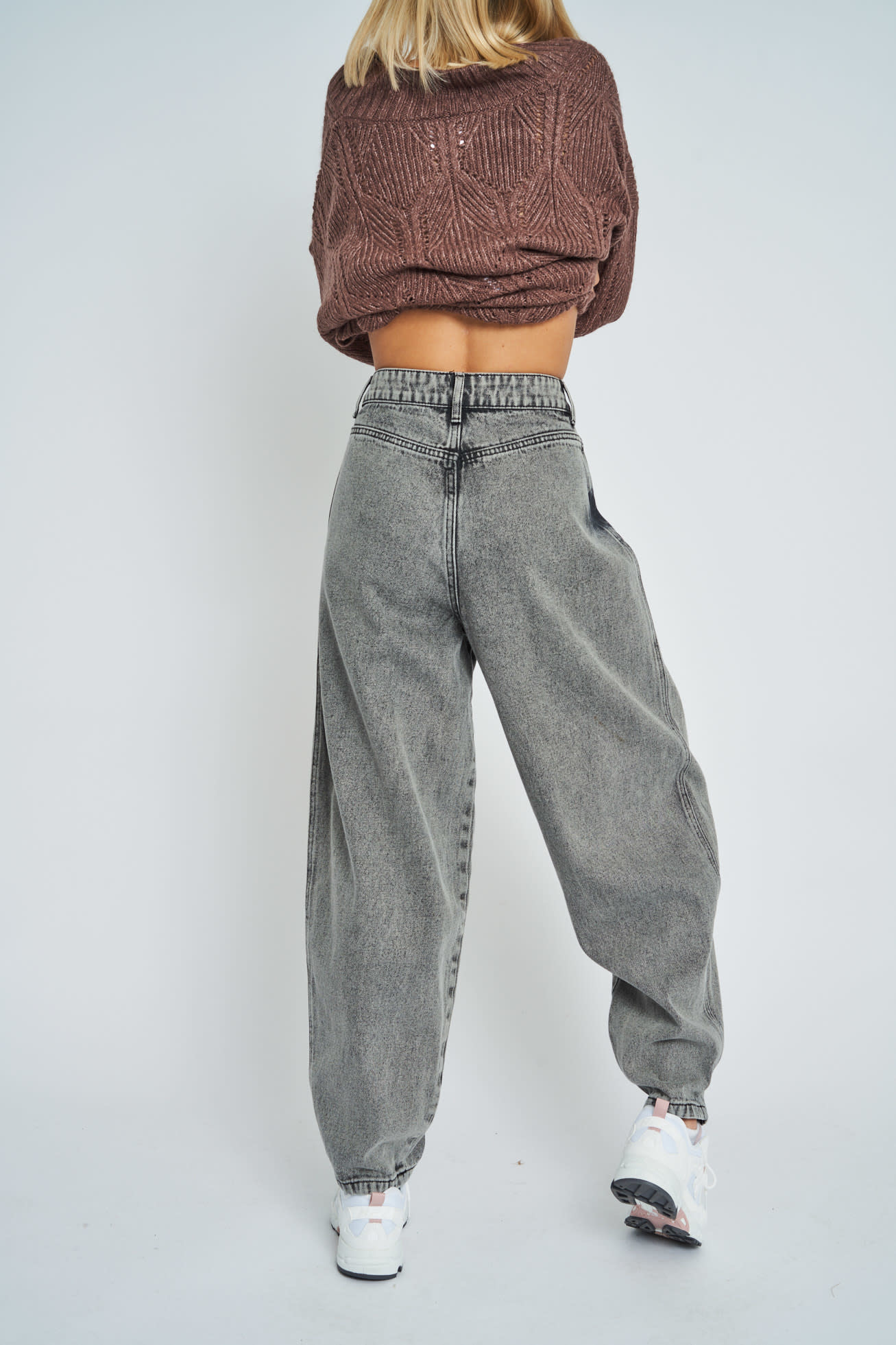 Native Youth Astric Organic Cotton Denim Mom Jeans
