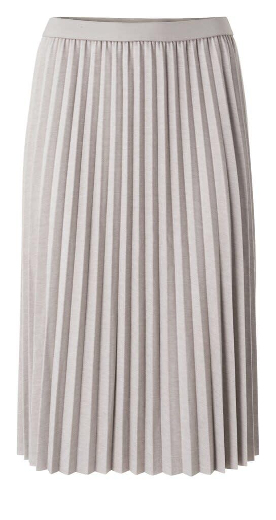 YAYA Women Jersey plissé midi skirt