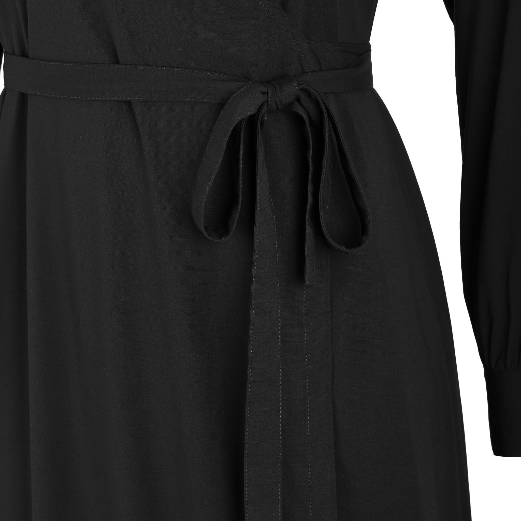 Soft Rebels Bloom Midi Wrap Dress