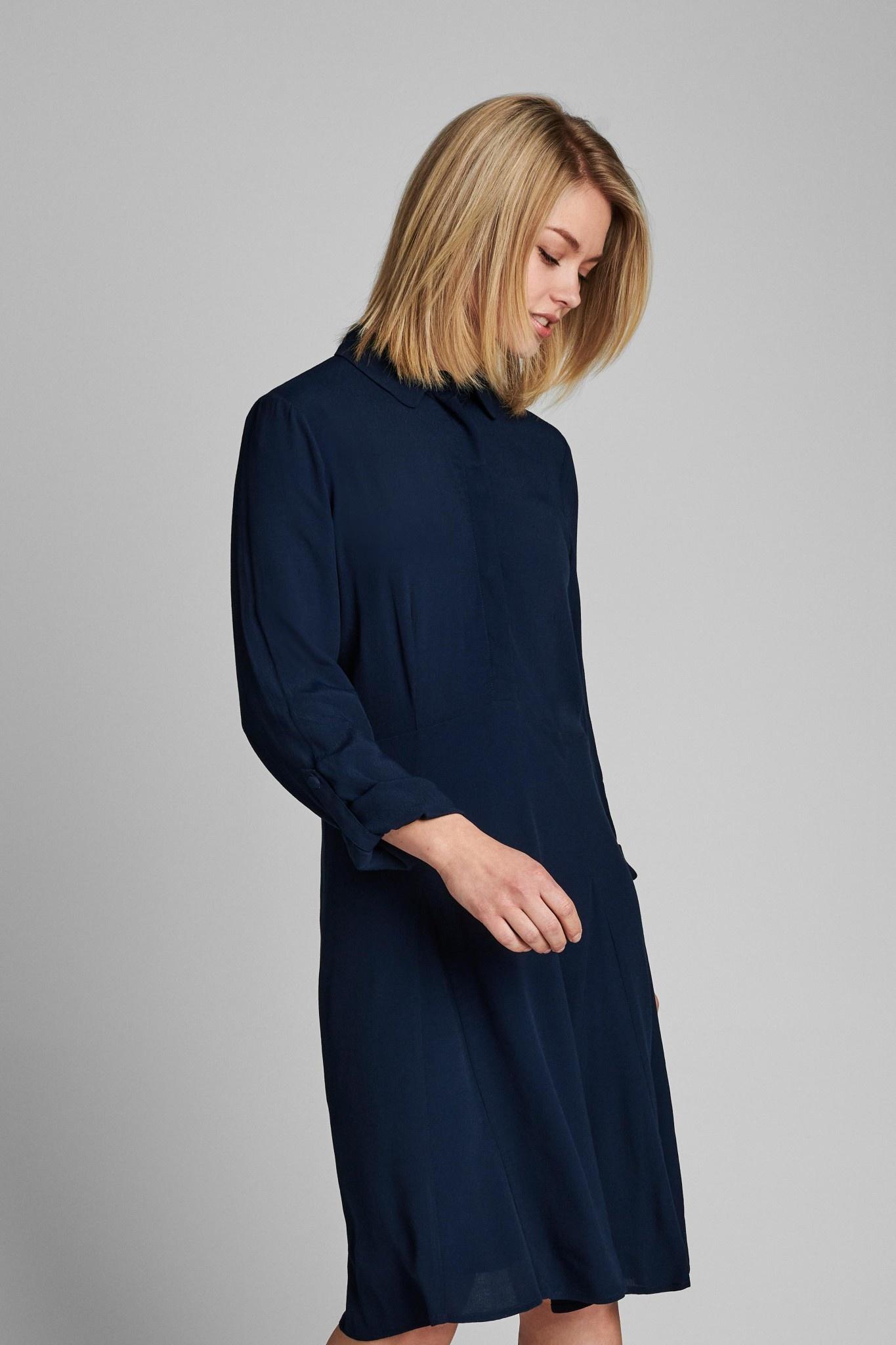 Nümph Delsia Dress NOOS - Donkerblauw