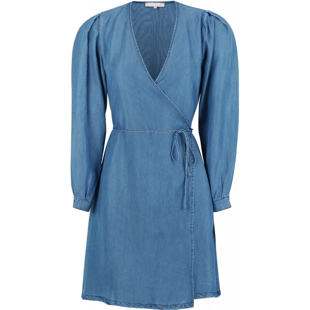Soft Rebels Sasha LS  Wrap Dress