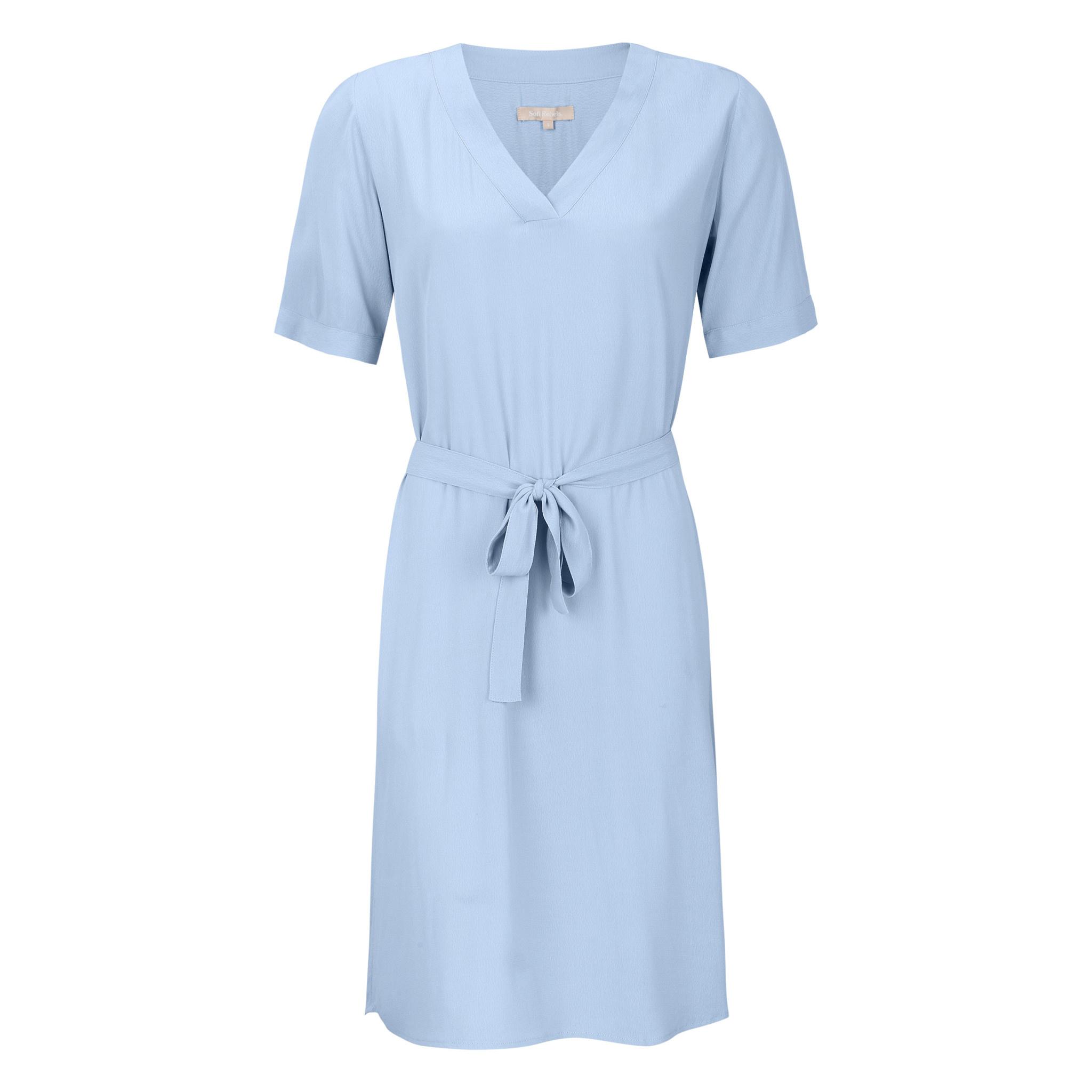 Soft Rebels Quinn 2/4 Dress - Blauw