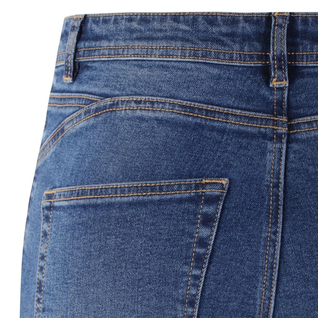 Soft Rebels Mid Rise Slim Jeans Blue - 804