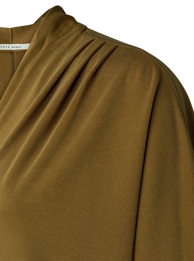 YAYA Women Jersey V-neck Dress