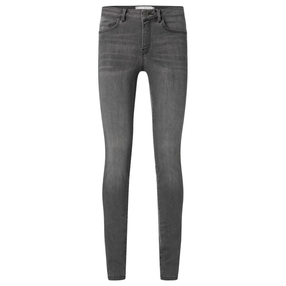 YAYA Women Skinny Jeans - Grey Denim