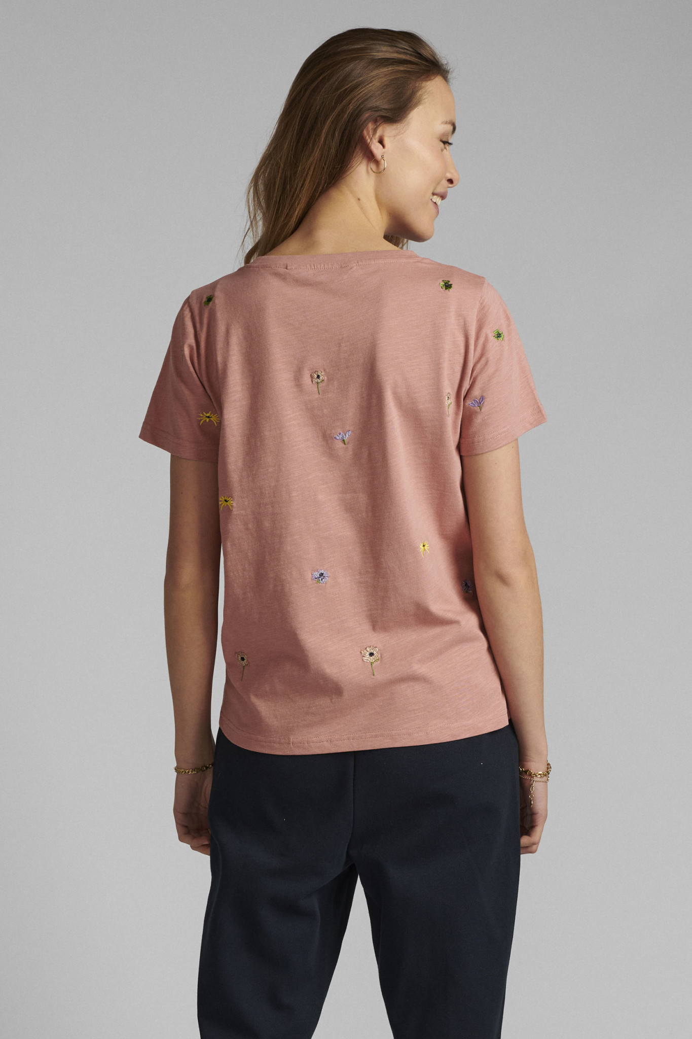 Nümph Carol T-shirt - Rose