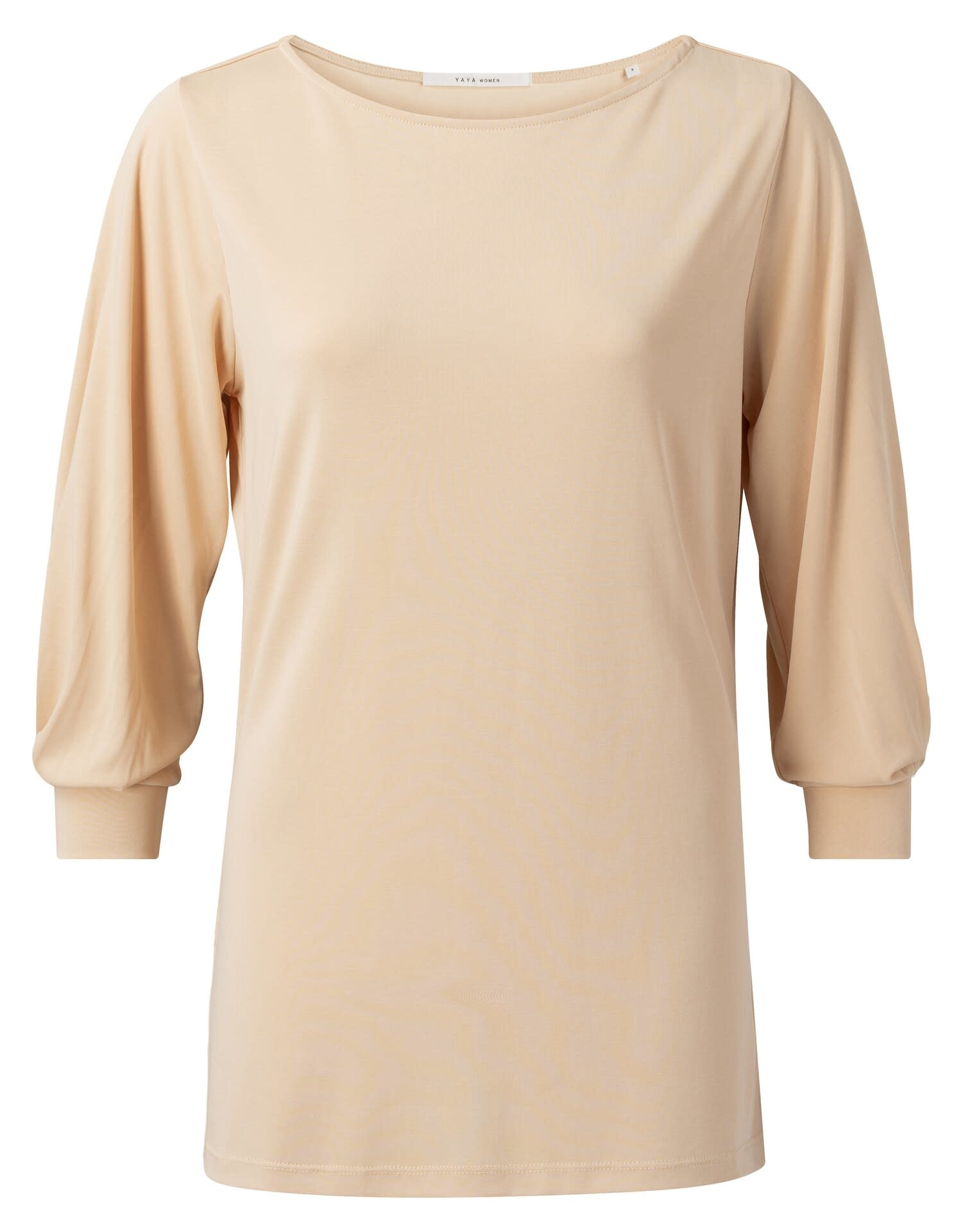 YAYA Women Pleated sleeve top