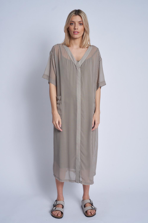 Native Youth Oversized maxi length dress
