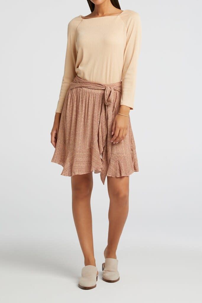 YAYA Women Wrapped mini skirt