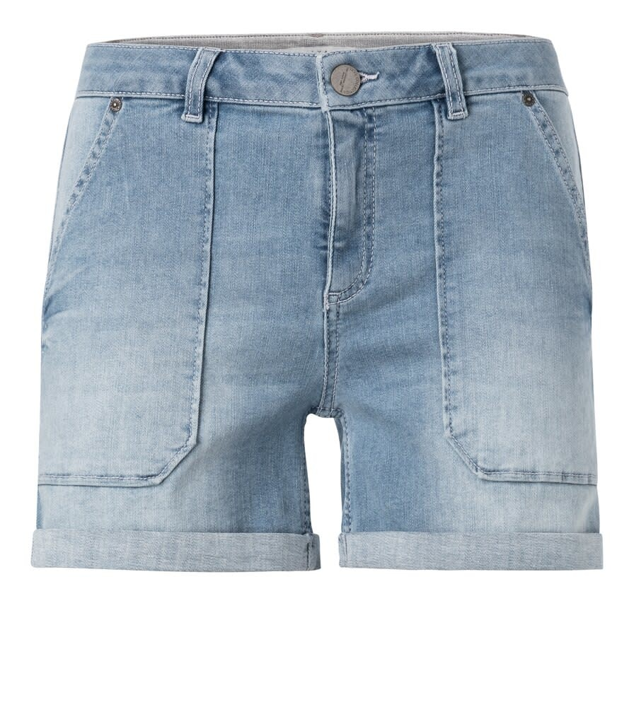 YAYA Women Denim Cargo Shorts