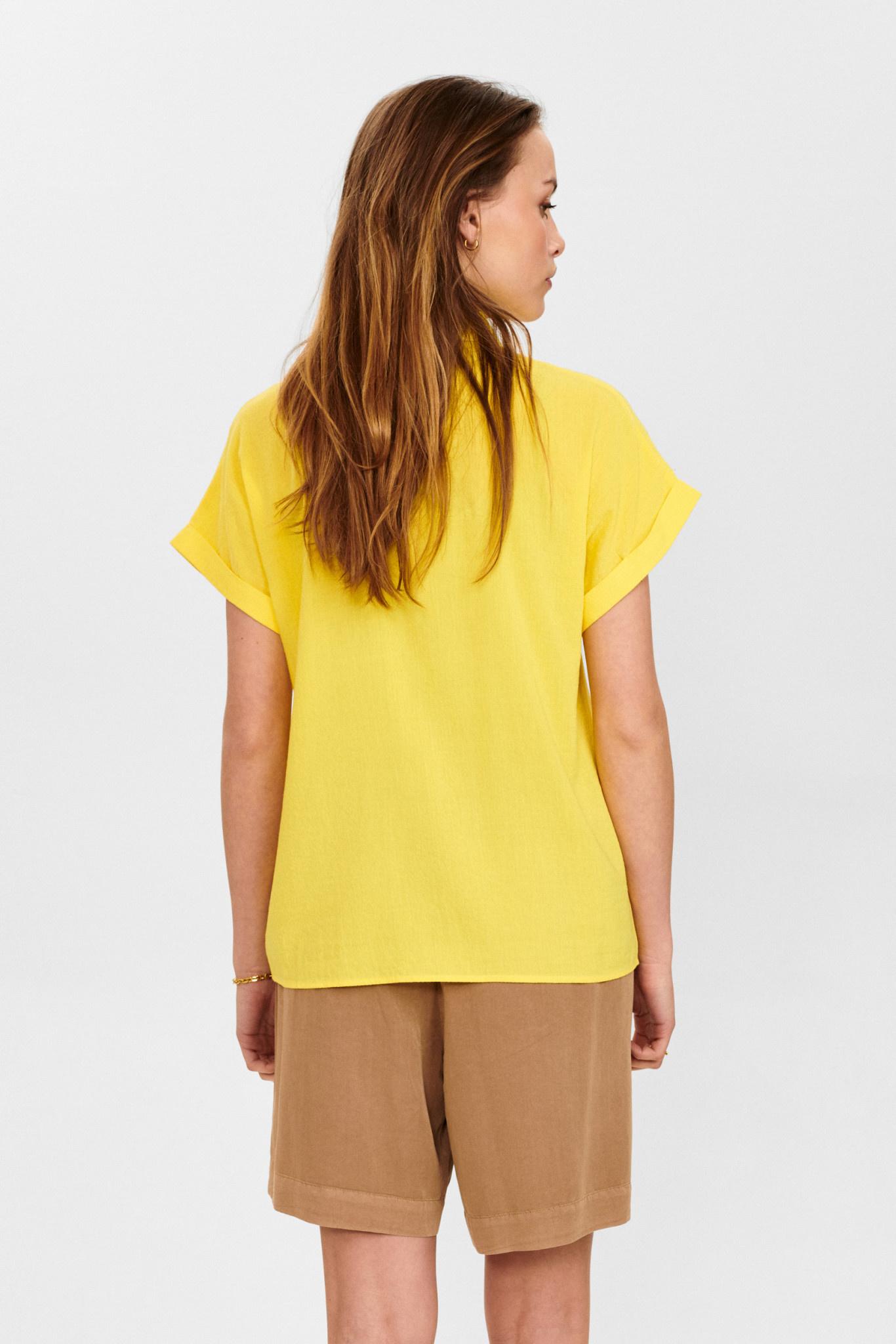 Nümph Cathy Shirt - Geel