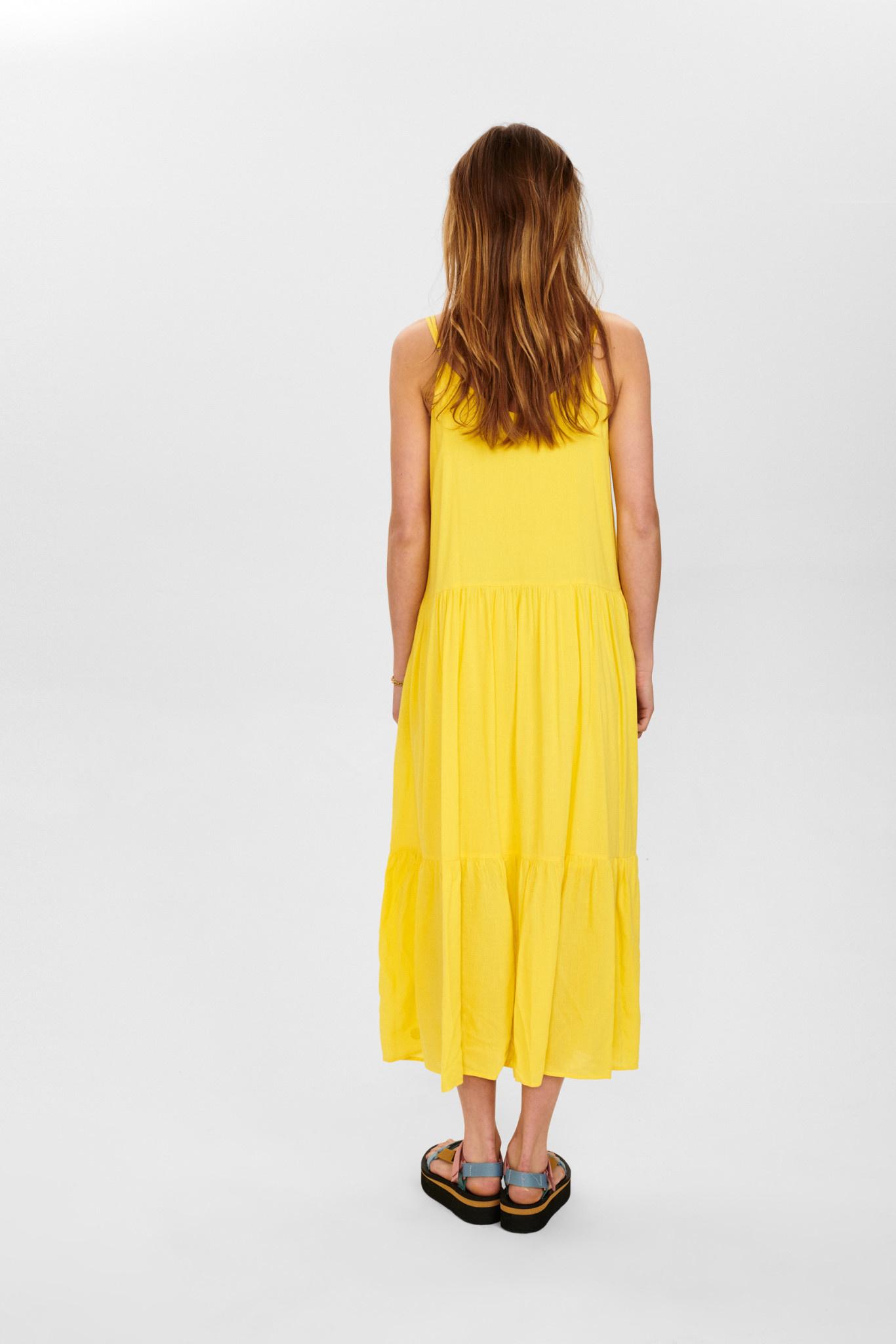 Nümph Cathy dress - Geel