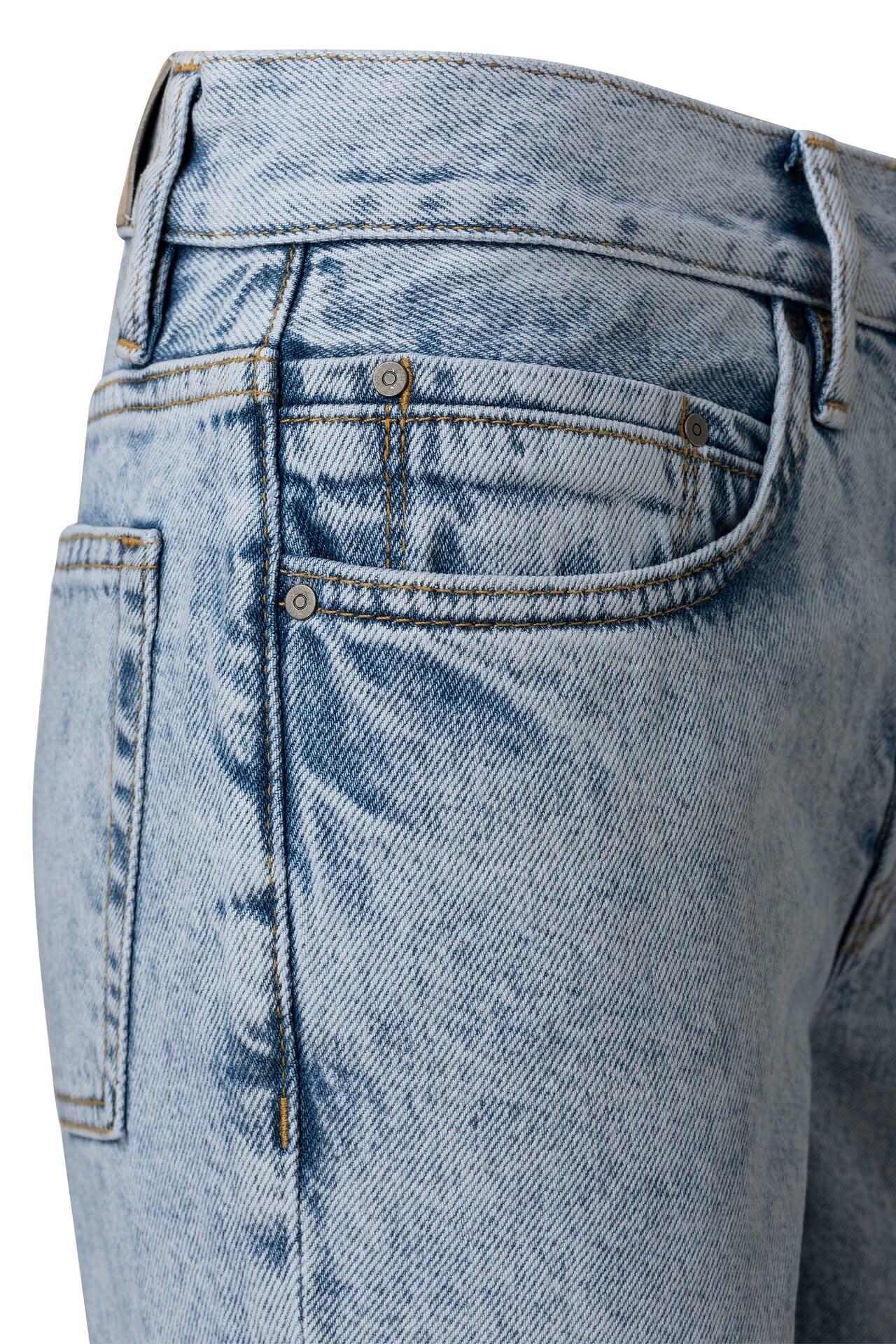 YAYA Women High waist straight leg denim