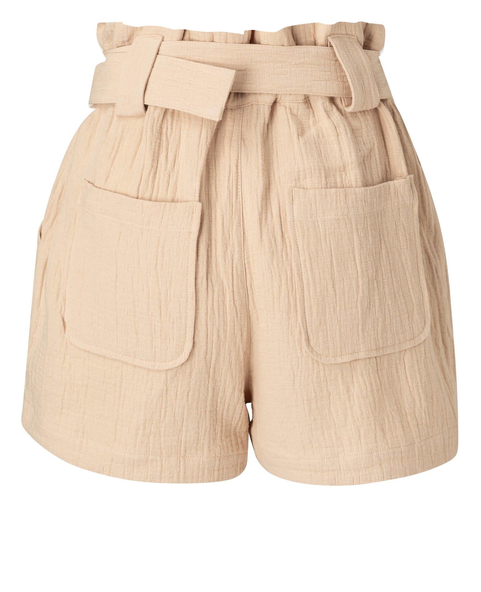 YAYA Women High waist cargo short