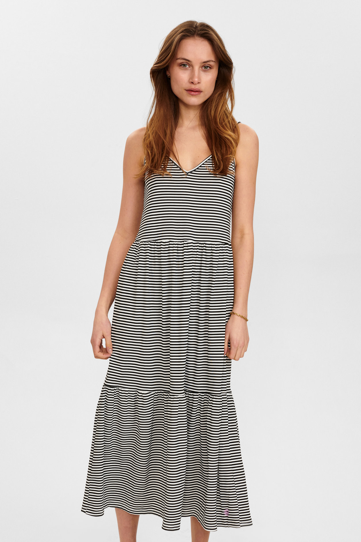 Nümph Charty Dress - Zwart/Wit