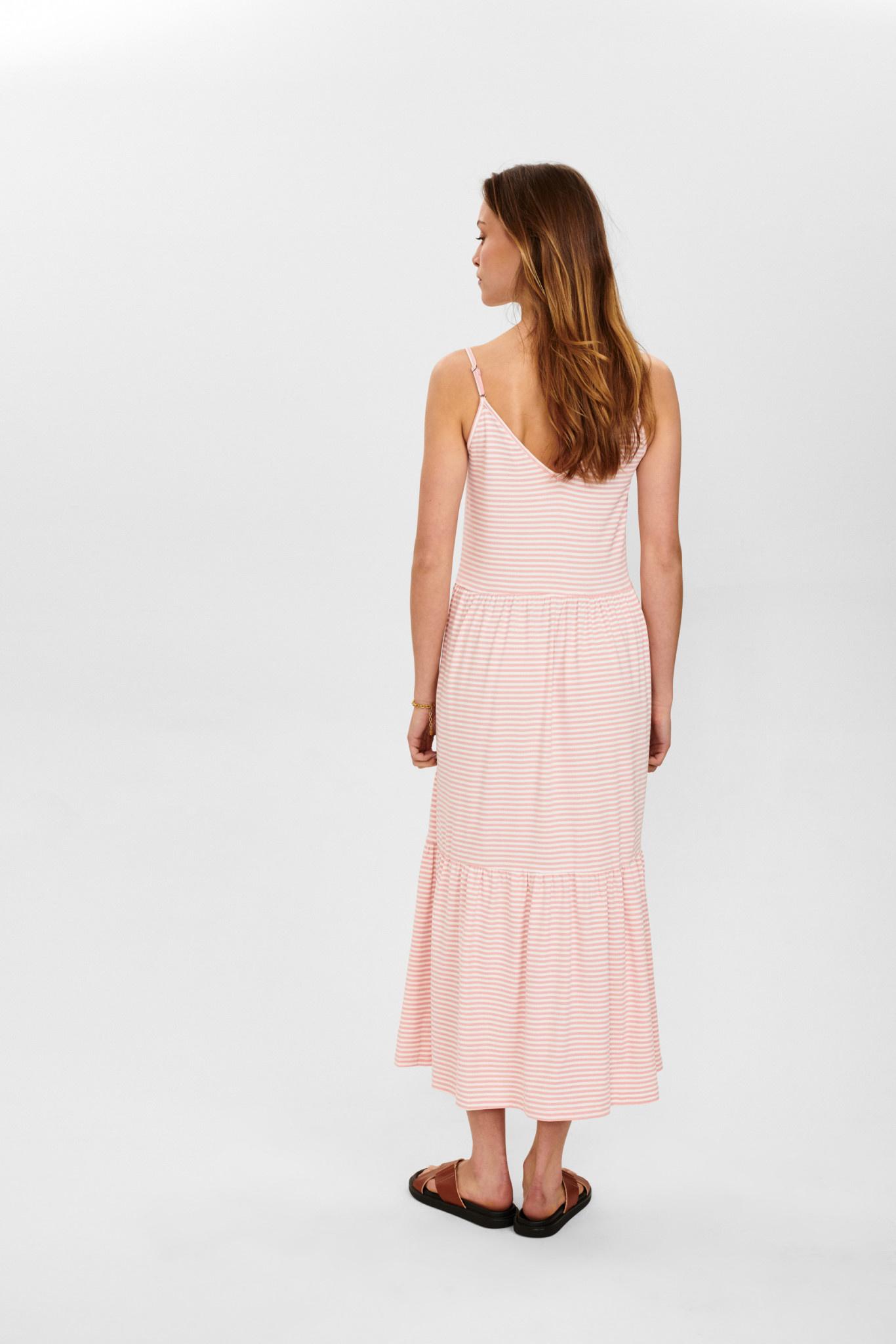 Nümph Charty Dress - Rose/wit