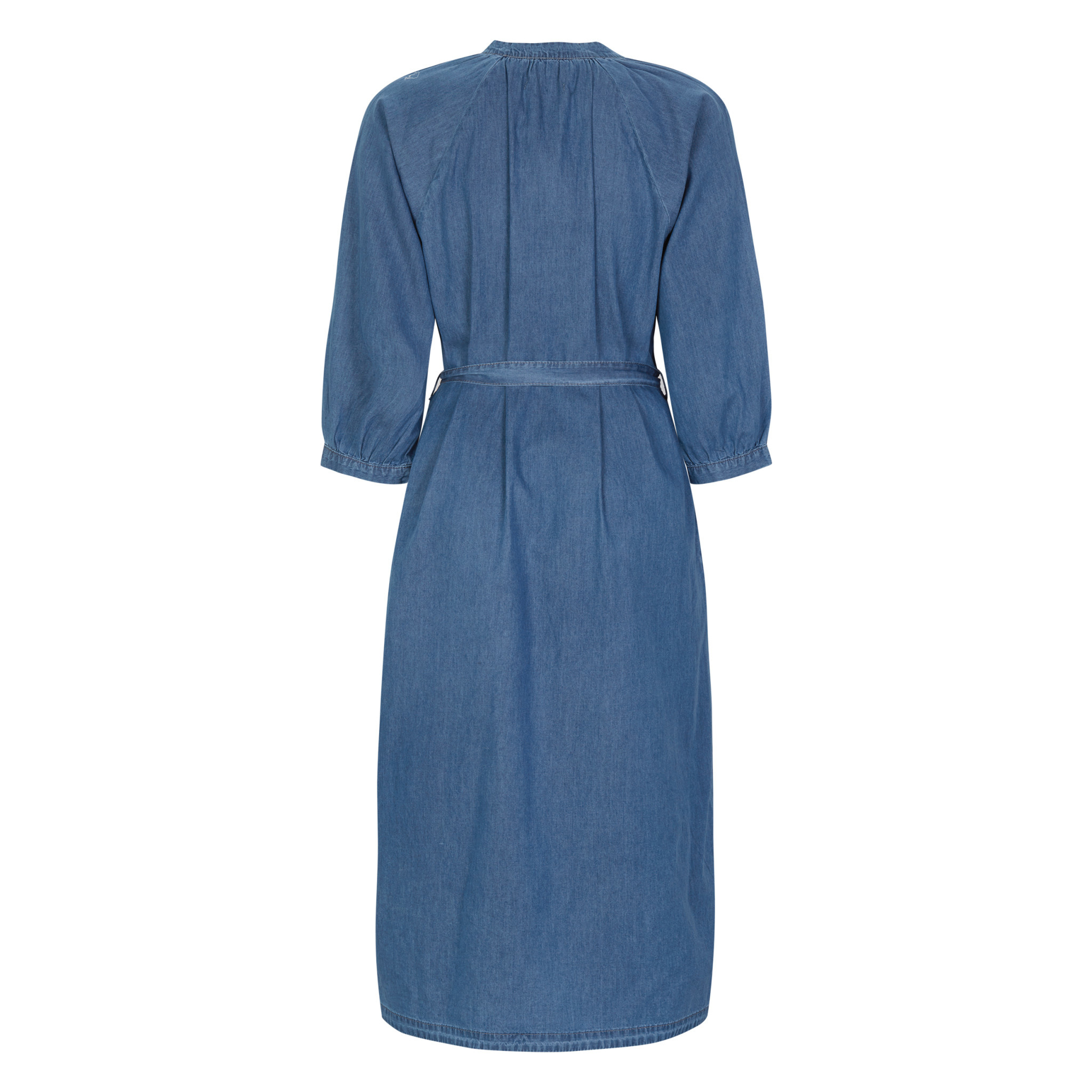 Soft Rebels Smurf midi dress