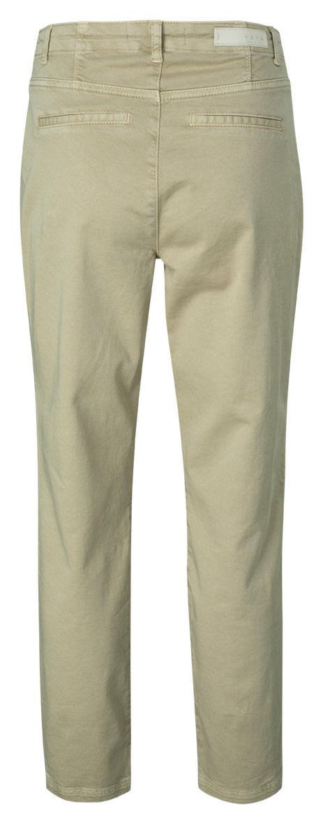 YAYA Women Straight fit worker trousers in cotton stretch fabric